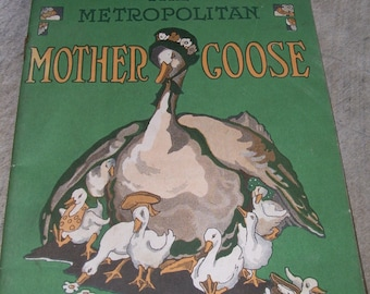 Mother Goose Paper Book - Metropolitan Life Insurance Company
