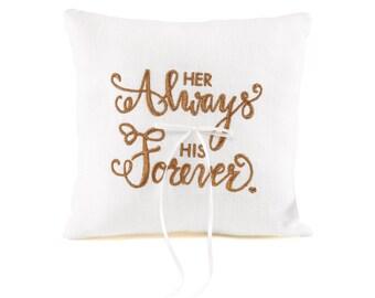 Always Forever - Ring Pillow