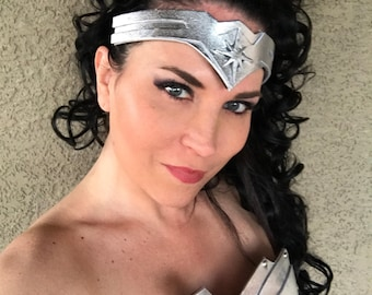 NEW Wonder Superhero Woman TIARA Fits Adults and Children