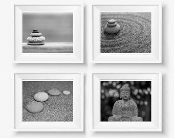 "Meditation Art, Meditation Decor, Yoga Room, Zen Photography, Buddha, Yoga, Balance, Harmony, Zen Decor, Yoga Room, Zen Art, ""Feeling Zen"""
