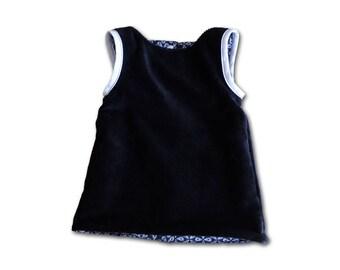 Reversible baby dress, 6 months / birthday gift / baby girl dress / Dress