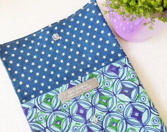 Pouch or wallet * WAX * blue