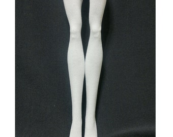 DolDolls stockings/socks for Monster high doll - Plain white #No.545