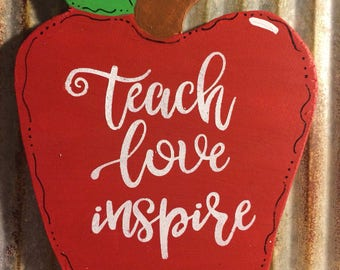 TEACHER Magnet | Refrigerator Magnets | Apple Magnet | Fridge Magnets | Kitchen Magnets