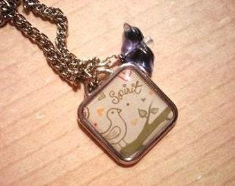Sweet Little Bird Necklace (K12)