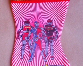 Sabans VR Troopers Christmas Stocking 1990's New/Old Store Stock