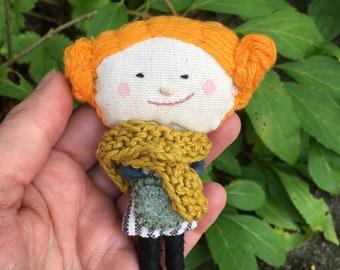 Pumpkin Carrie Ooak Art Doll#1