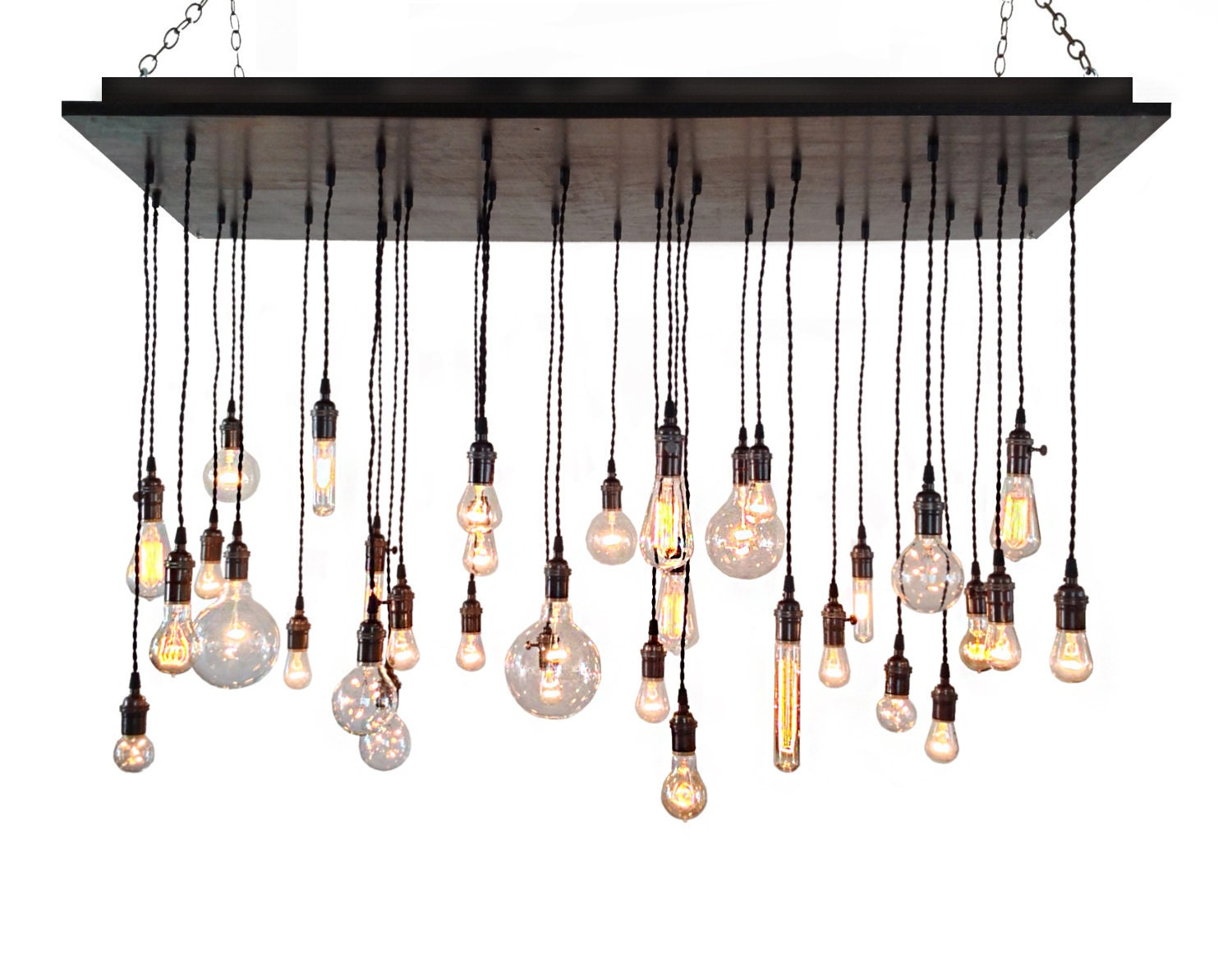 Industrial chandelier rustic lighting modern chandelier zoom aloadofball Choice Image