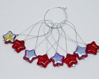 Star snag free stitchmarkers