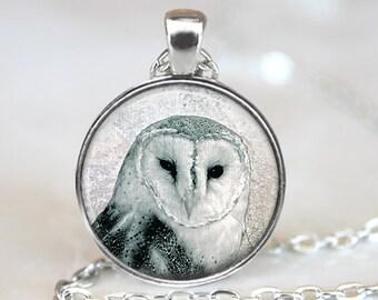 Owl Pendant, Bird Art Necklace, Owl Jewelry, Bird Art Pendant, Bird Jewelry, Owl Gift, Owl Art Pendant, Bronze, Silver, 010