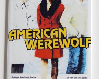 An American Werewolf in London (German) Movie Poster Fridge Magnet