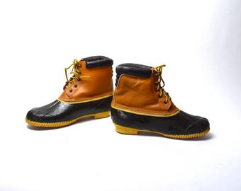 Stormers All Weather Duck Boots, Men's Size 12