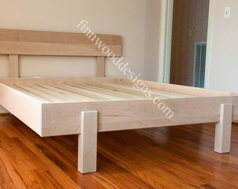 KAJAANI PLATFORM BED-  All Sizes - New lower price!