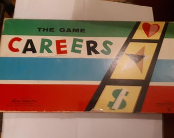 Parker Brothers Careers ~ 1955 Complete