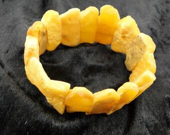 Raw Butterscotch Amber Bracelet