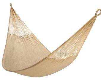 Hammock - Natural Khaki (2+ Person) | Free Shipping from Yellow Leaf Hammocks