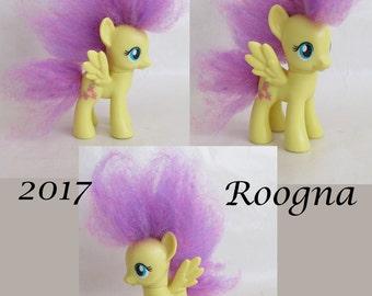 Fluttershy Custom Rehaired Puff Pegasus My Little Pony G4 FiM Friendship is Magic