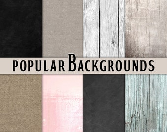 Burlap digital paper Wood digital paper Wood Digital paper burlap Chalkboard digital paper chalk Scrapbooking paper Printable paper