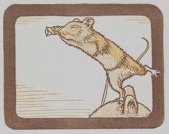 Woodland Animal Prints - Original Prints - Animal Print - Set of 4