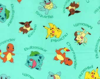 Pokemon Embroidered Birthday Shirt Any Age Pikachu Squirtle Charmander