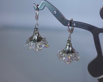 Swarovski Crystal Earrings - MADE TO ORDER in Any Color - Swarovski Crystals