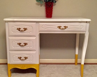 Sold- Beautiful 1960's French Provincial Desk