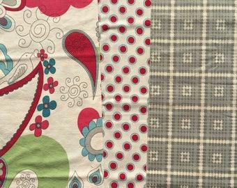 Urban Chiks 1974 moda fabrics 3 FQ set OOP HTF Please Read
