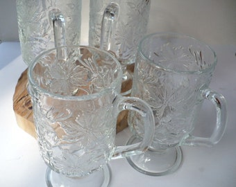 15 Year Anniversary Gift, 15th Year, Fifteen Year Anniversary, Wedding, Crystal, Mugs, Fantasia, Princess House