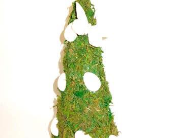 Christmas Tree, xmas centrepiece, Moss tree centerpiece