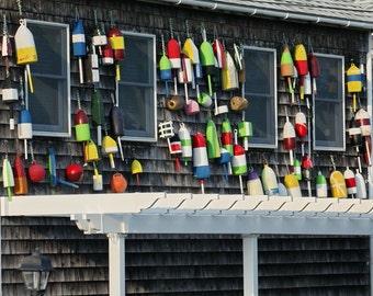 Lobster Buoy Photo, Maine Art, Nautical Art, Beach Art Decor, Coastal Wall Art, Rustic, Fisherman, Americana Print, Lobster Trap, Fishing
