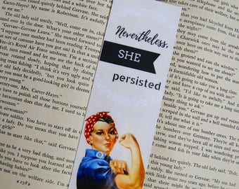 She Persisted Bookmark