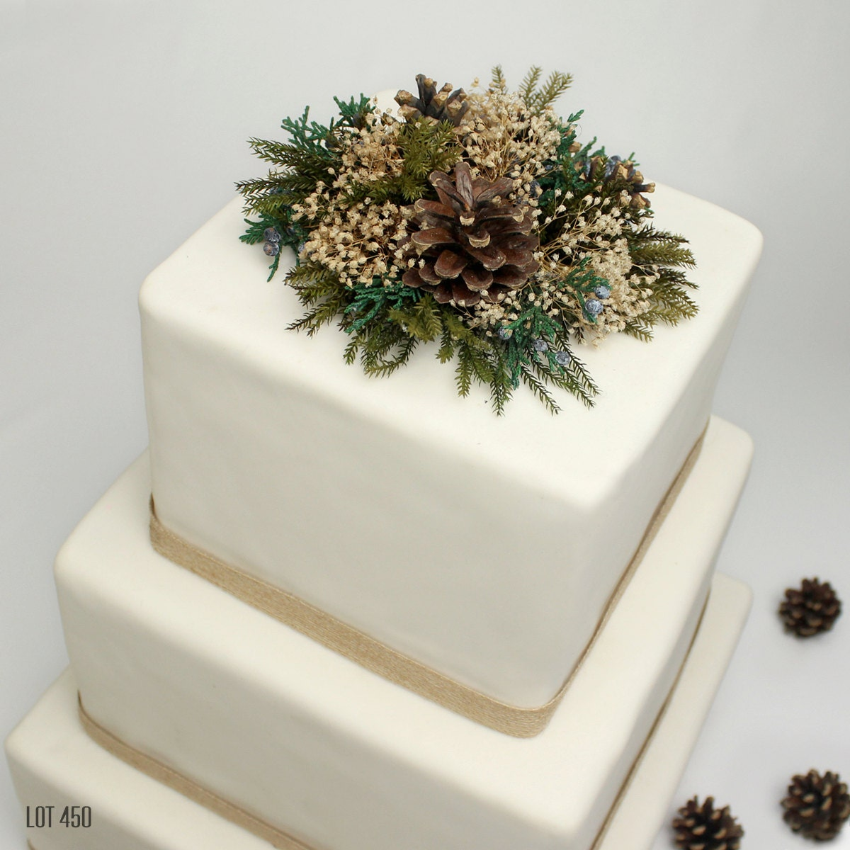 Wedding Cake Topper Woodland Forest Wedding Cake Topper