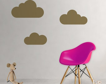 Stickers clouds wall art