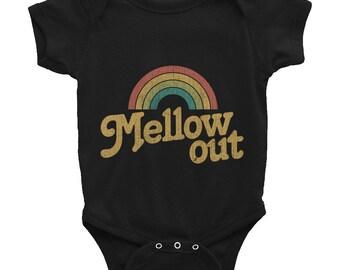Mellow Out Retro Infant Bodysuit