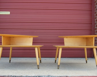 Gorgeous Thonet End Tables