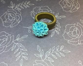 Chrysanthemum Adjustable Rings