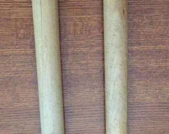 Vintage All Wood Cotton Mill Spools