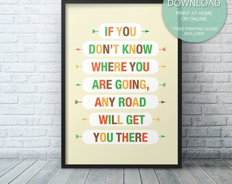 Motivational poster Decor, Inspirational Printable Quote, Office Art, wall art prints, quote posters, Printable ART PRINT, Instant Download