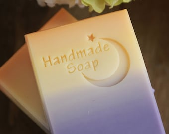 Ashuai soap-Acrylic soap stamp Stamp 001-Night(free shipping)
