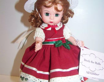 Deck the Halls Madame Alexander 8 in doll
