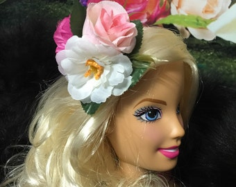 Classic Vintage Rockabilly Cutie Pinup Floral Accessory