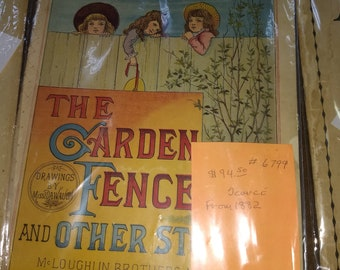 the Garden Fence and Other Stories Illustrated juvenile book