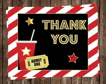 Popcorn thank you | Etsy