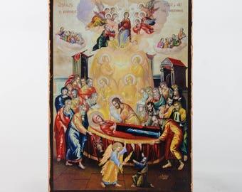 Christian Icon The Assumption, catholic icons and orthodox icons