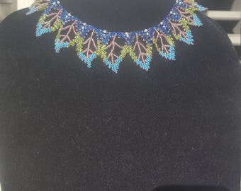 Russian Leaf necklace