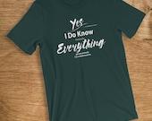 Veterinarian T Shirt I Kn...