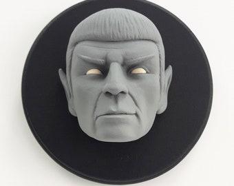 Spock/Star Trek/Art Toy/Resin Figure/Head Sculpture/Deco Art