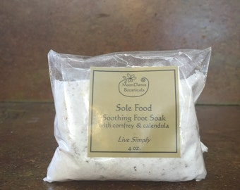 Sole Food Soothing Foot Soak with Comfrey and Calendula