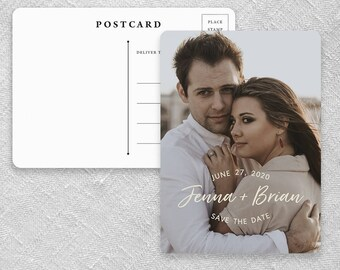 Simply Us - Postcard - Save-the-Date