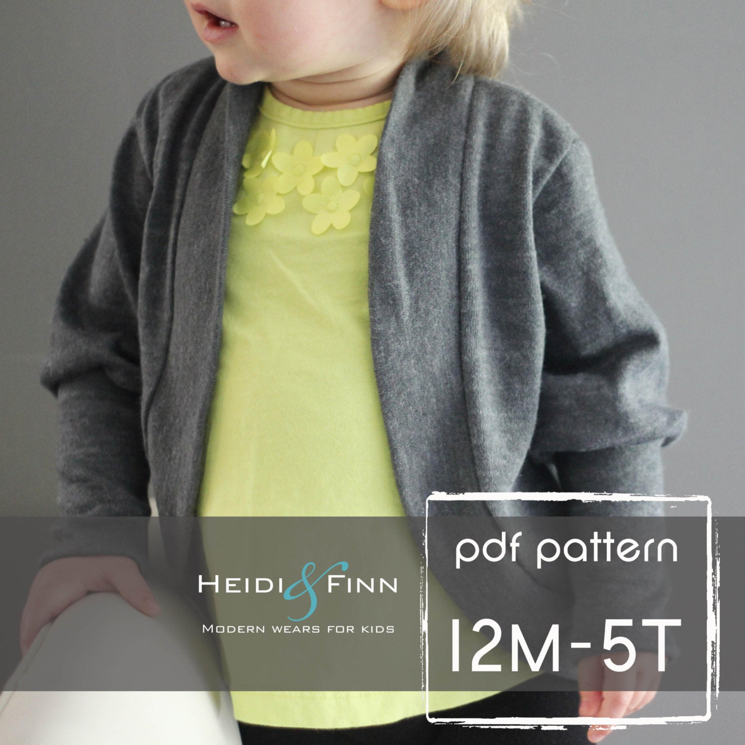 Slouchy cardigan pattern and tutorial pdf 12m 5t easy sew zoom jeuxipadfo Images
